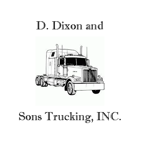 D Dixon and Sons Trucking LogoD Dixon and Sons Trucking Logo